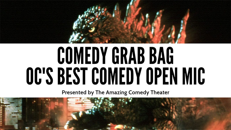 Orange County's Best Comedy Open Mic - Presented By The Amazing Comedy Theater